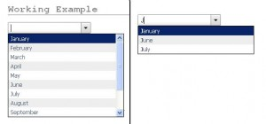 jquery-drop-down