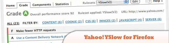 Yahoo! YSlow for Firefox