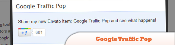 Google Traffic Pop