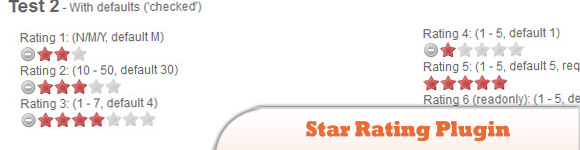 Star Rating Plugin