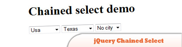 jQuery Chained Select