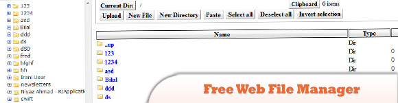 Free Web File Manager